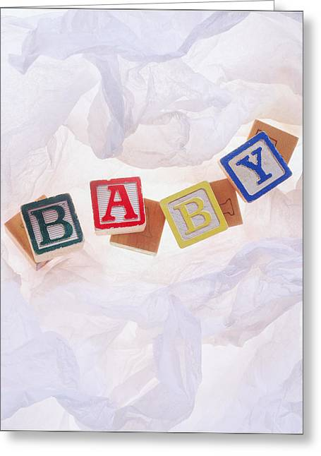 Baby Greeting Card by Morocco Flowers Images