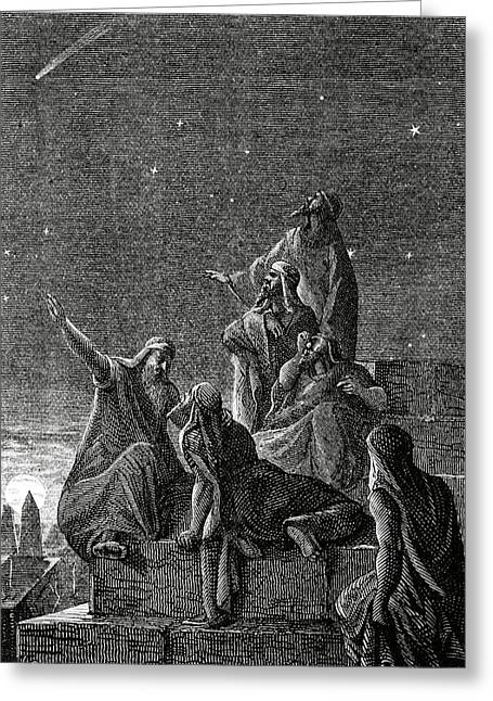 Babylonian Astronomers Greeting Card