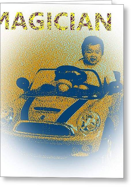 Babymagician Greeting Card