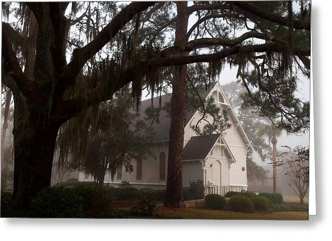 Greeting Card featuring the photograph Back Door Believer by Laura Ragland