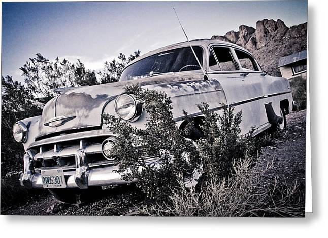 Back In 53 Greeting Card by Merrick Imagery