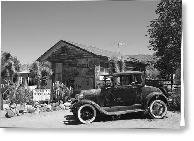 Back In Time Greeting Card by Kimberly Oegerle