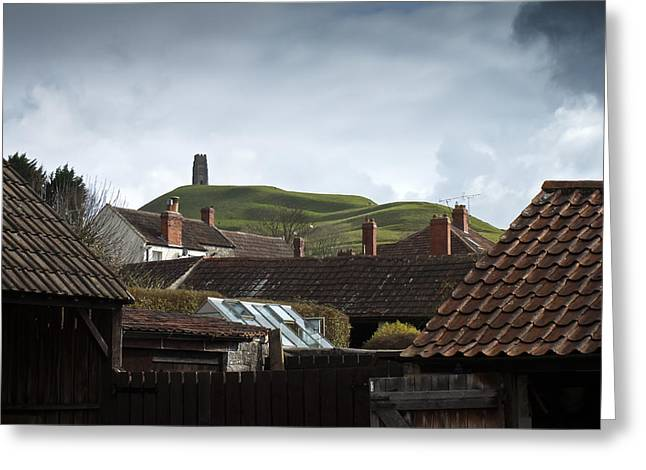 Greeting Card featuring the photograph Back Yard Tor by Stewart Scott