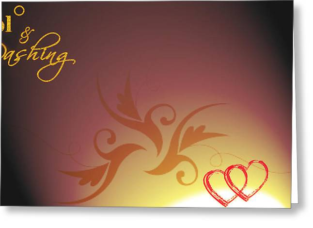 Backgrounds Greeting Card