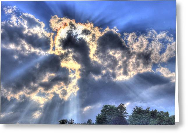Backlight Greeting Card by Craig T Burgwardt