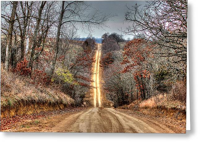 Backroad Greeting Card