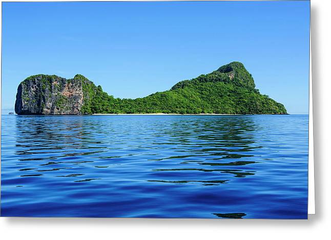 Bacuit Archipelago, Palawan, Philippines Greeting Card by Michael Runkel