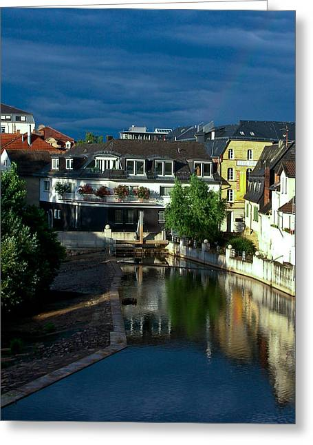 Bad Kreuznach Germany Greeting Card