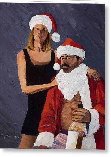 Bad Santa II Greeting Card