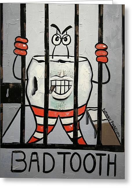 Bad Tooth Greeting Card