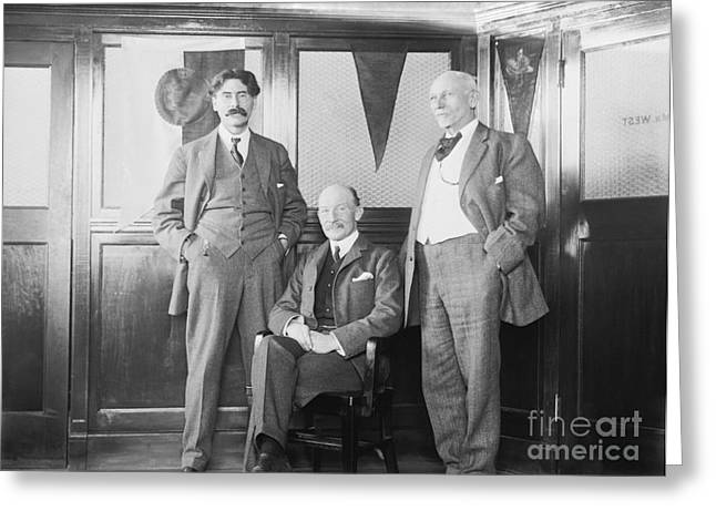 Baden-powell With Us Scouting Pioneers Greeting Card by Library Of Congress