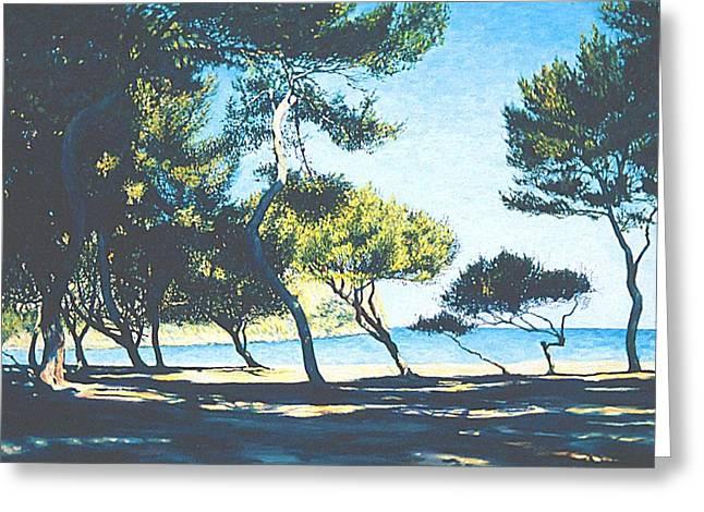 Badia De Alcudia -- Mallorca Greeting Card by Herschel Pollard