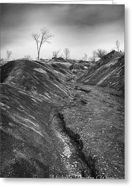 Greeting Card featuring the photograph Badlands 3 by Michaela Preston