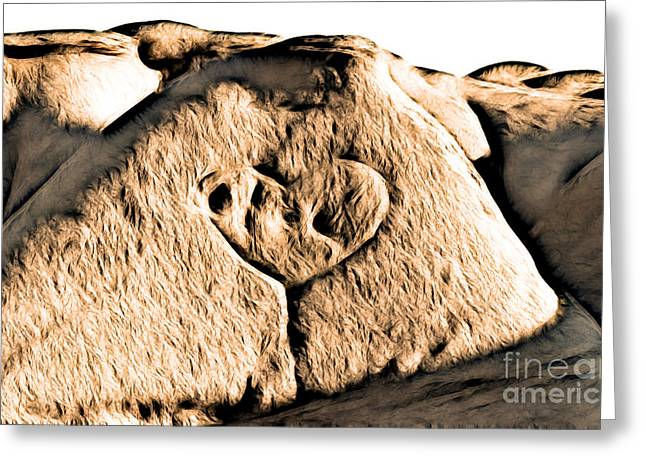 Badlands Love Greeting Card