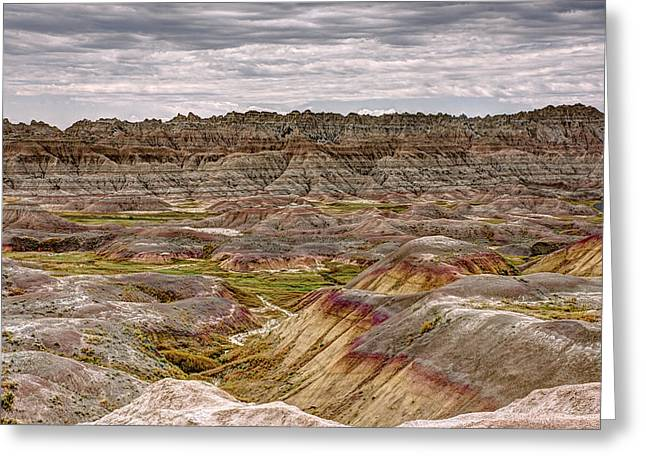 Badlands - North Dakota 1 Greeting Card