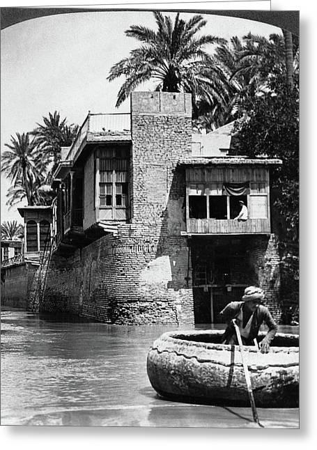 Baghdad Tigris, C1914 Greeting Card by Granger