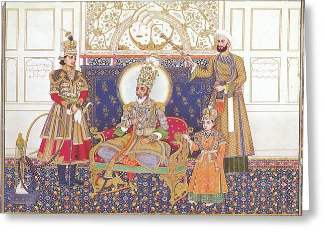 Bahadur Shah II (1775-1862) Greeting Card by Granger
