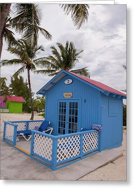 Bahamas, Eleuthera, Princess Cays Greeting Card