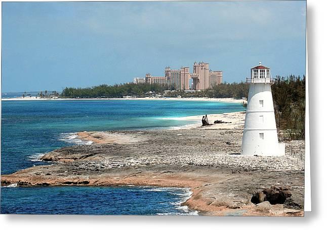 Bahamas Lighthouse Greeting Card