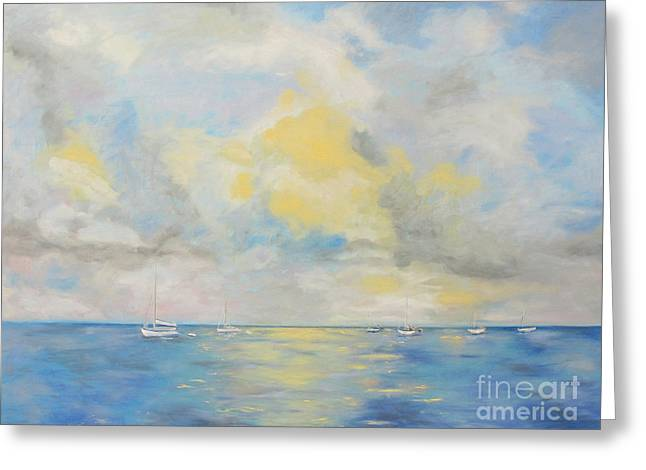 Bahamian Skies Greeting Card