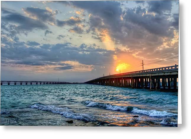 Bahia Honda Sunset Greeting Card