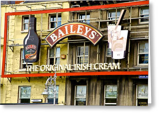 Baileys Irish Cream Greeting Card