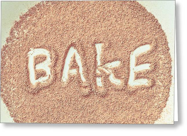 Bake Greeting Card by Tom Gowanlock