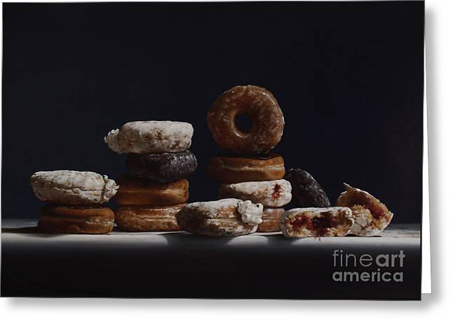 Bakers Dozen Greeting Card by Larry Preston
