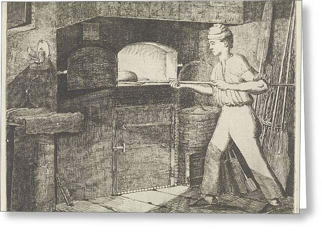 Bakery, Eberhard Cornelis Rahms Greeting Card by Eberhard Cornelis Rahms