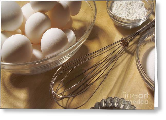 Baking Still Life Greeting Card