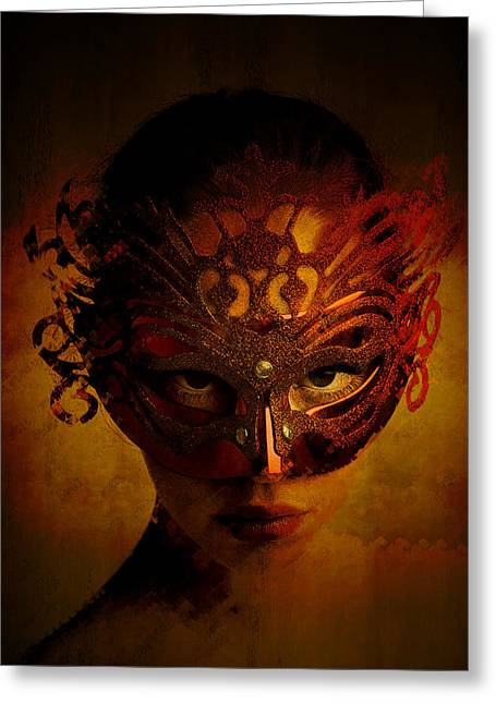Bal Masque Greeting Card