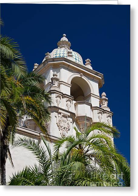 Balboa Park  2 Greeting Card by Baywest Imaging