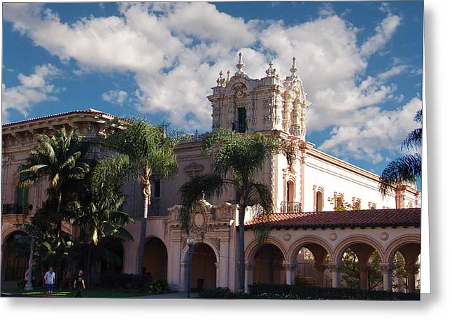 Balboa Park - Casa De Balboa Greeting Card by Glenn McCarthy Art and Photography