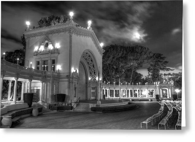 Balboa Park Organ Pavilion Greeting Card