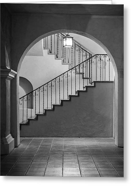 Balboa Park Stairs Greeting Card