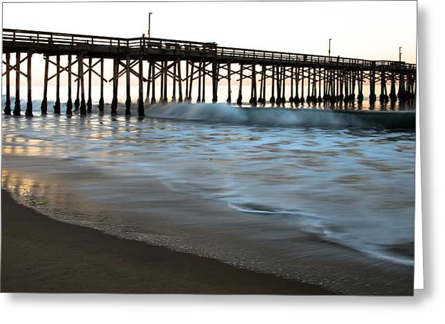 Balboa Pier  Greeting Card by John Daly