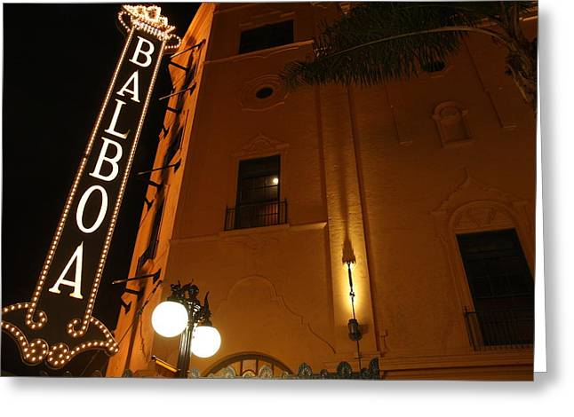 Balboa Theatre Greeting Card