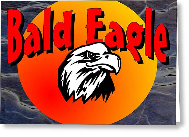 Bald Eagle Greeting Card by Daryl Macintyre