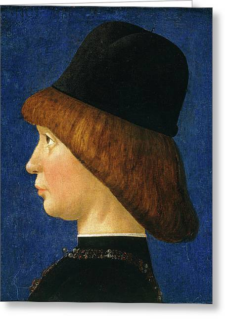 Baldassare Deste Italian, 1432-after 1506 Greeting Card by Litz Collection
