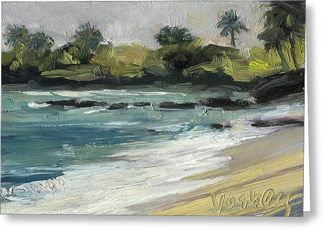Baldwin Surf Maui Greeting Card by Stacy Vosberg