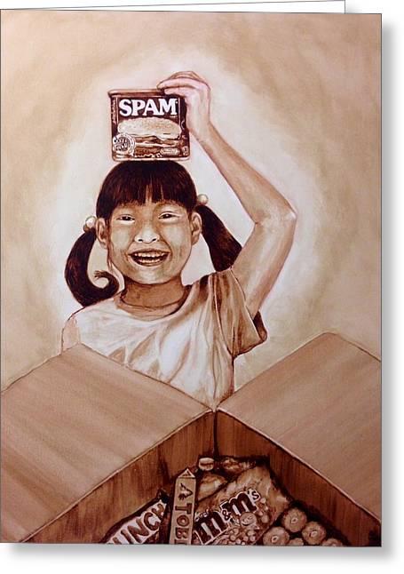 Balikbayan Box Greeting Card by Clarisse Pastor-Medina