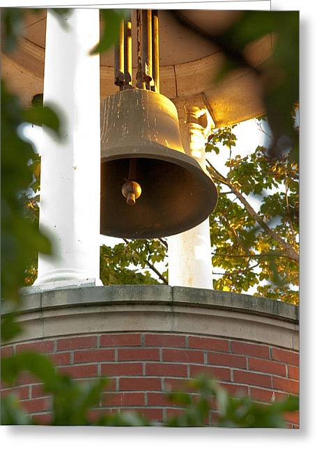 Greeting Card featuring the photograph Ballard Bell by Erin Kohlenberg