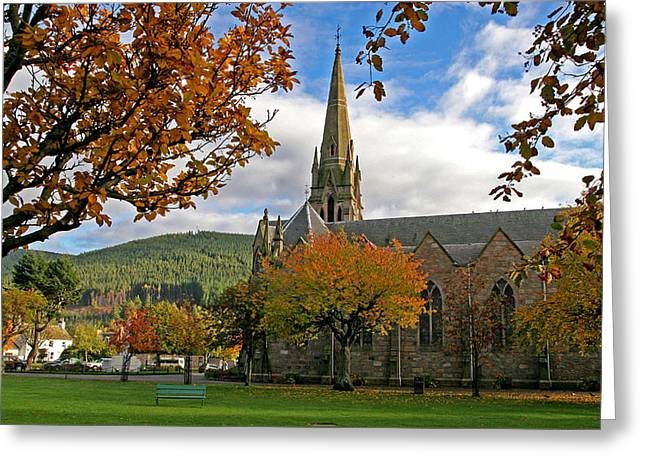 Ballater Church Greeting Card