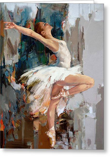 Ballerina 22 Greeting Card