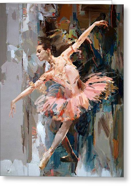 Ballerina 29 Greeting Card
