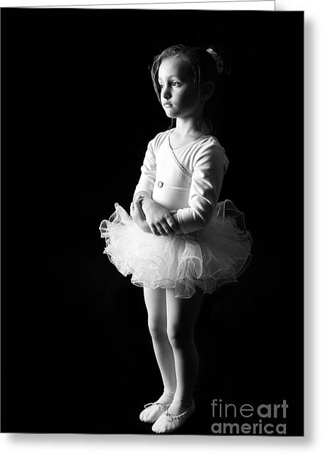 Ballerina Greeting Card by Suzi Nelson