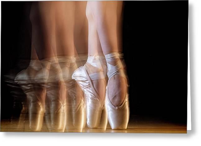 Ballet Greeting Card by Howard Ashton-jones