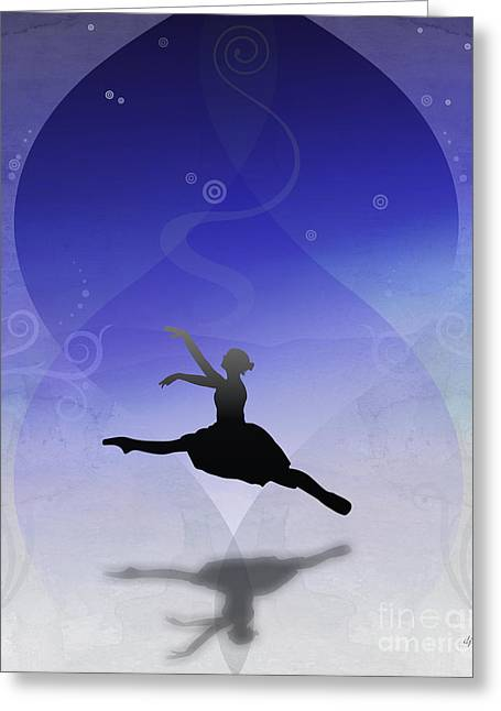 Ballet In Solitude  Greeting Card by Bedros Awak