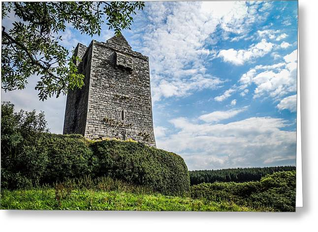 Ballinalacken Castle In Ireland's County Clare Greeting Card