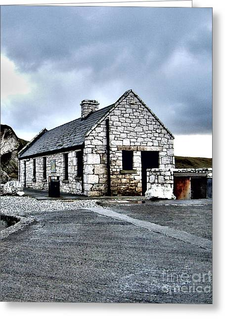 Ballintoy Stone House Greeting Card